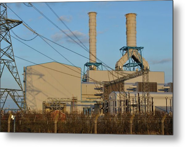 South Humber Bank Gas Power Station Metal Print