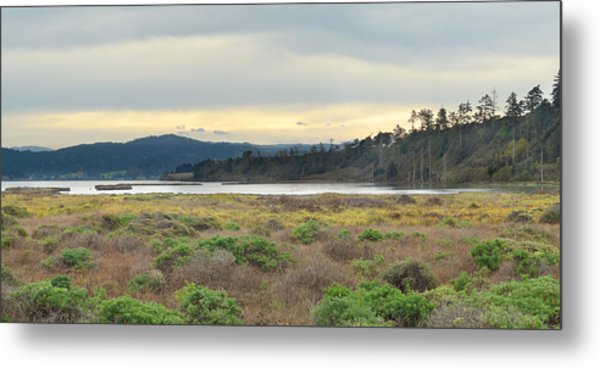 South Humboldt Bay Metal Print