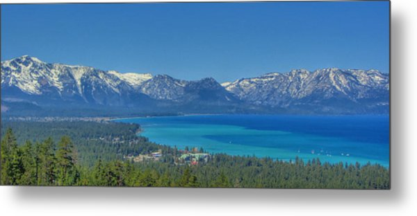 South Lake Tahoe View Metal Print