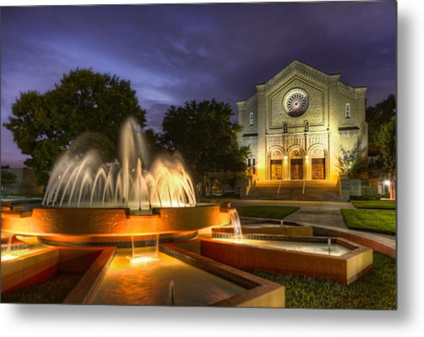 South Main Baptist Church Metal Print