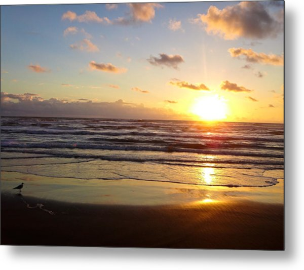 South Padre Island Sunrise Metal Print