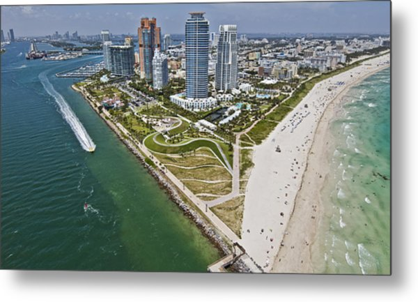 South Pointe Park Metal Print