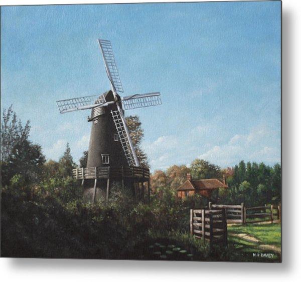 Southampton Bursledon Windmill Metal Print