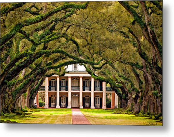Southern Class Painted Metal Print