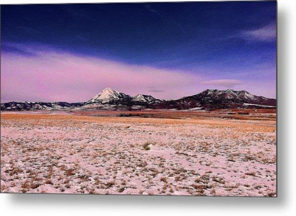 Southern Colorado Mountains Metal Print
