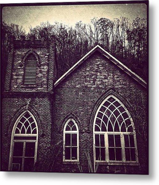 Southern Gothic Church Metal Print