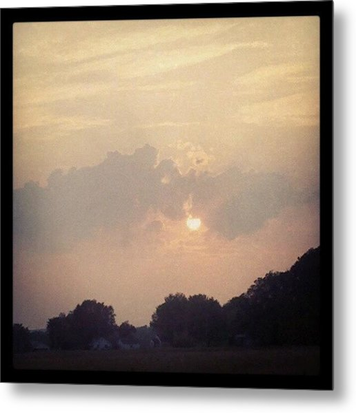 Southern Indiana Sunset Metal Print