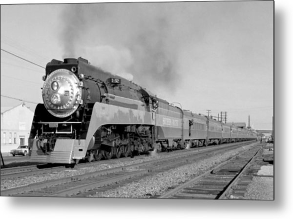 Southern Pacific Train In Texas Metal Print