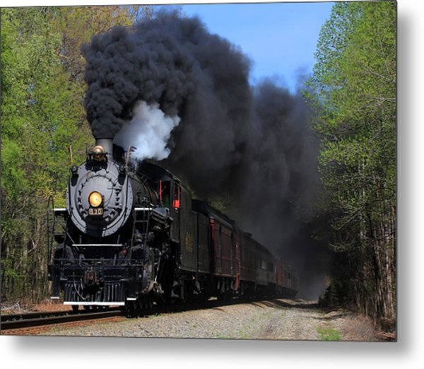 Southern Railway Steam Engine #630 Metal Print