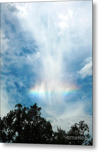Southern Rainbow Cloud Metal Print