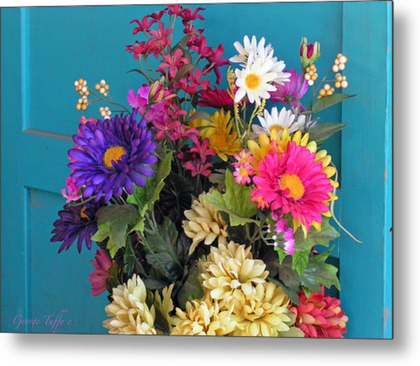 Southwest Flowers Metal Print