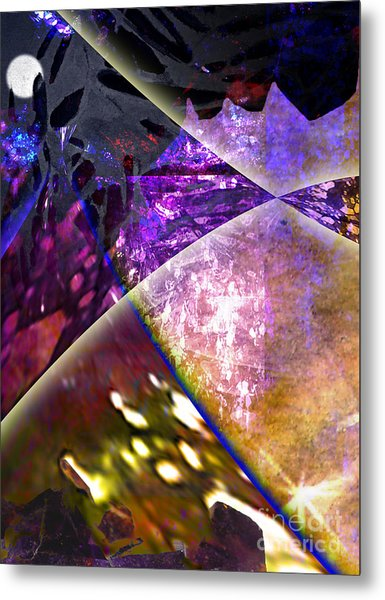 Space Night Metal Print