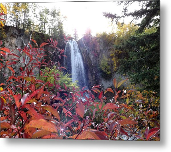 Spearfish Falls Metal Print