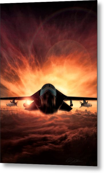 Special Delivery F-111 V2 Metal Print