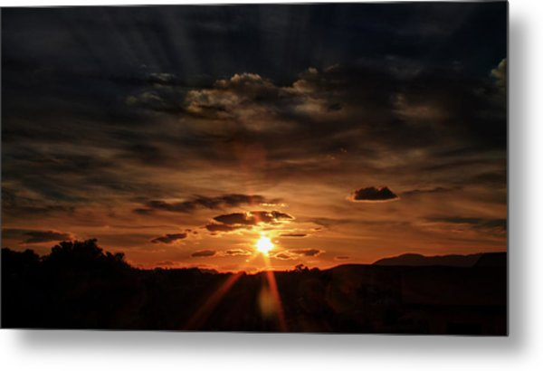 Spectacle In The Sky Metal Print