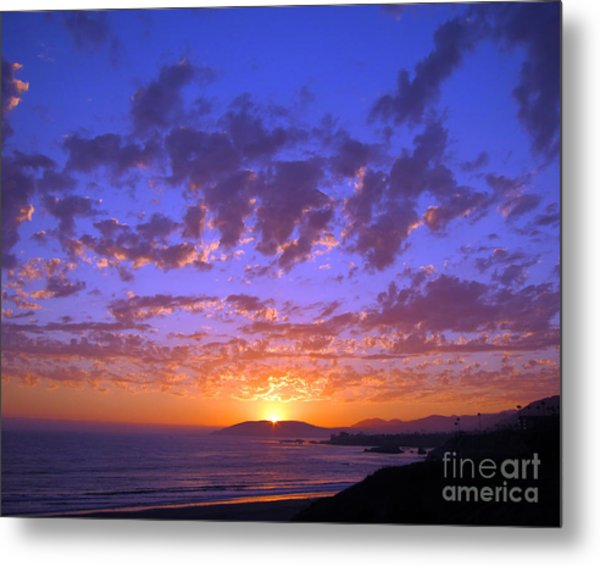 Spectacular Sunset  Metal Print