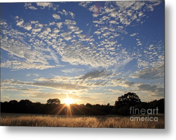 Spectacular Sunset England Metal Print