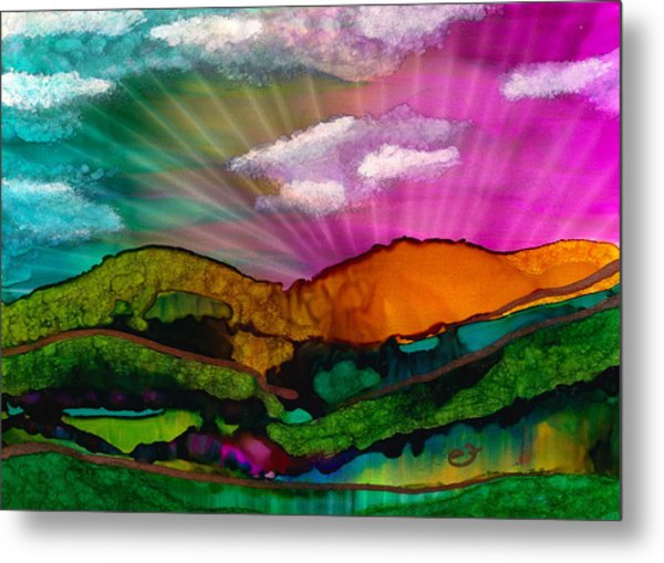 Spectrum Of Hope Metal Print