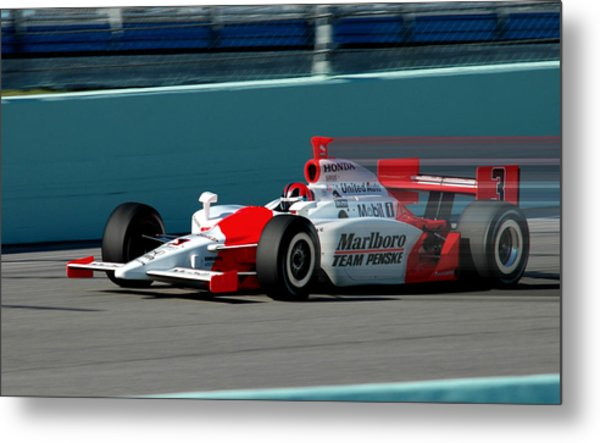 Speed Indy Metal Print