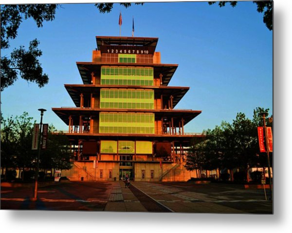 Speedway Bagota At Sunrise Metal Print