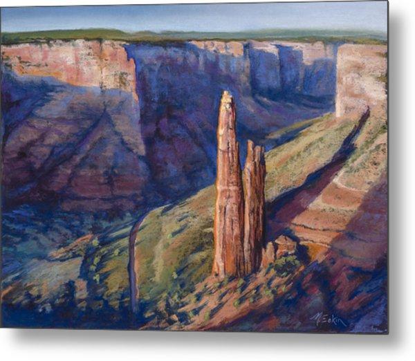 Spider Rock Canyon De Chelly Az Metal Print