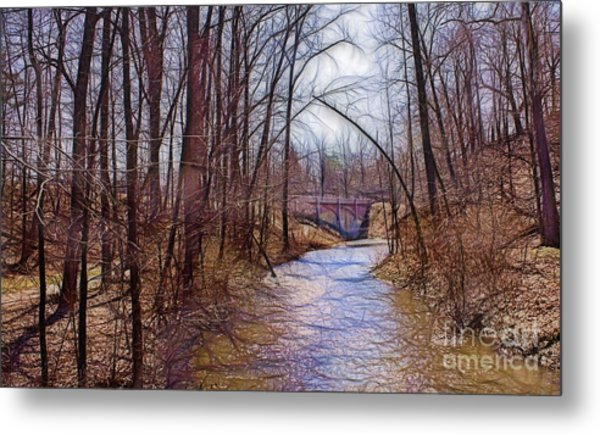 Spingtime In Western New York Metal Print