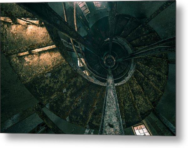 Spiral Metal Print by Akos Kozari