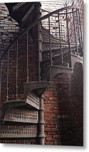 Spiral Staircase Depot Metal Print