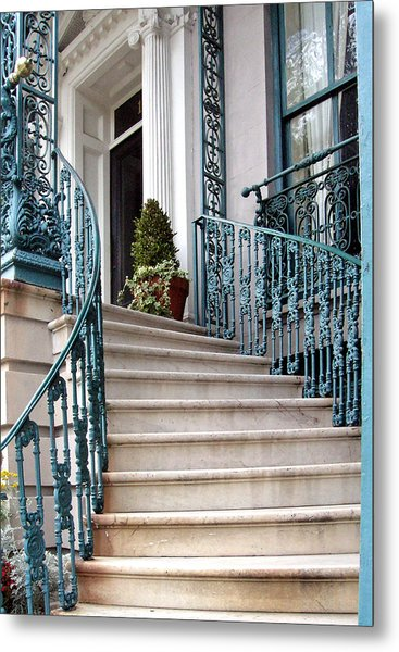 Spiral Stairs Metal Print by Sarah-jane Laubscher
