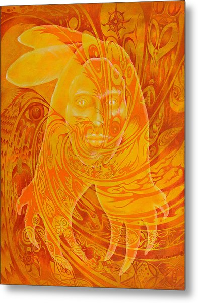 Spirit Fire Metal Print