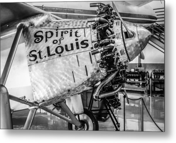 Spirit Of St. Louis Metal Print