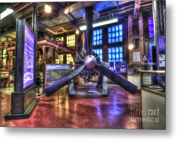 Spirit Of St.louis Engine Metal Print