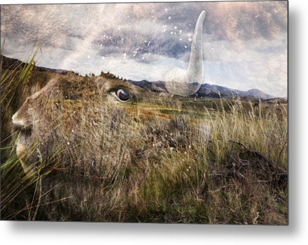 Spirit Of The Past Metal Print