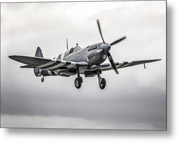 Spitfire Coming Home Metal Print