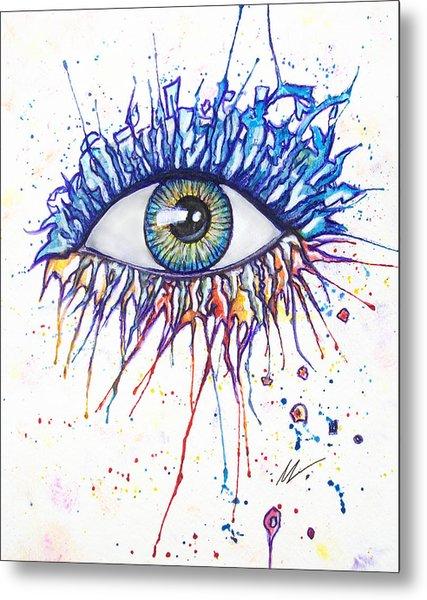 Splash Eye 1 Metal Print
