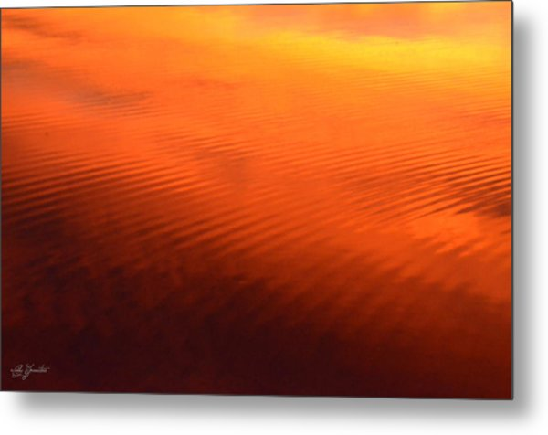 Splash Of Sunset  Metal Print