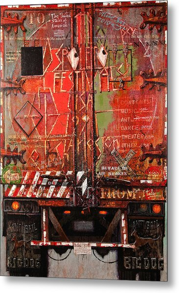Spoleto Truck Metal Print