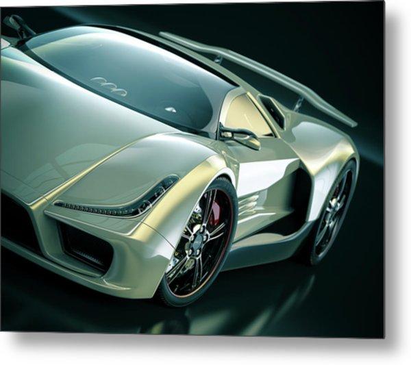 Sports Car Metal Print