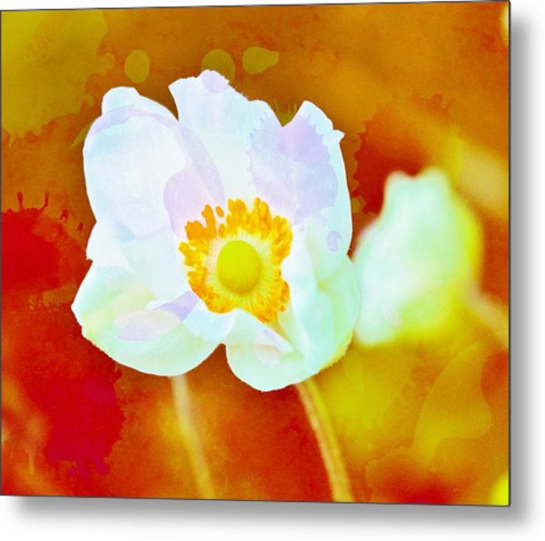 Spot Of Color Metal Print by Cathie Tyler