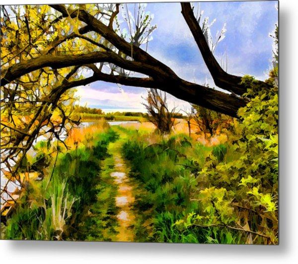 Spring Colours  By Leif Sohlman Metal Print