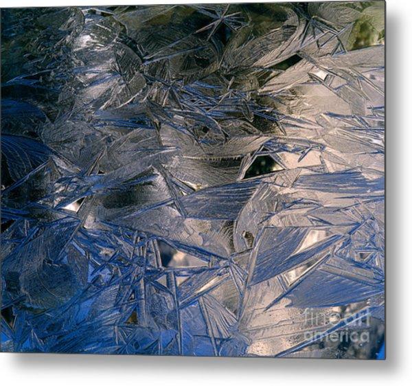 Spring Ice Breaking Up Metal Print