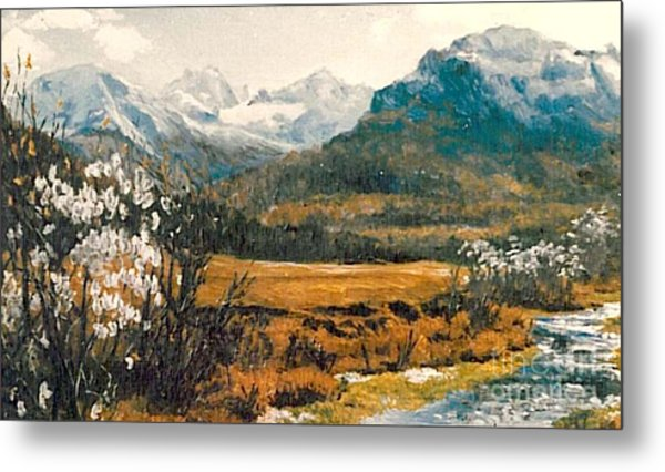 Spring In France Metal Print by Sorin Apostolescu