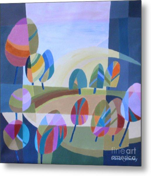 Spring In The Air Metal Print by Carola Ann-Margret Forsberg