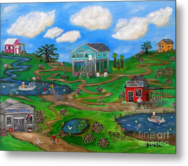 Spring In The South Metal Print