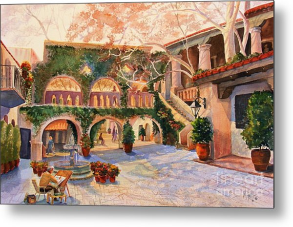 Spring In Tlaquepaque Metal Print
