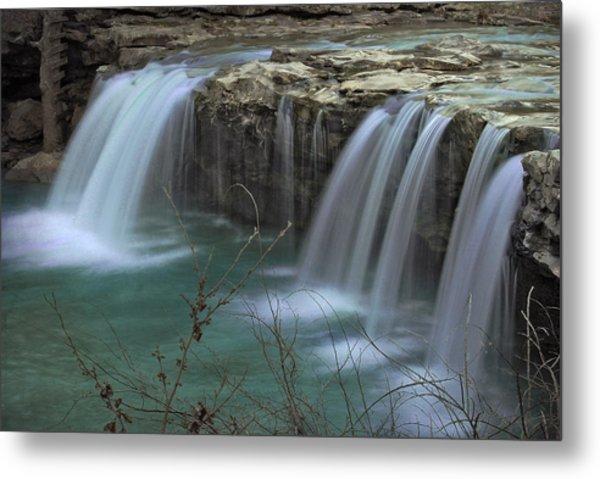 Spring King River Arkansas Metal Print by Cindy Rubin