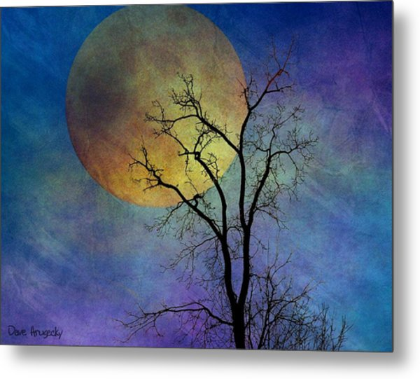 Spring Moon Metal Print by Dave Hrusecky
