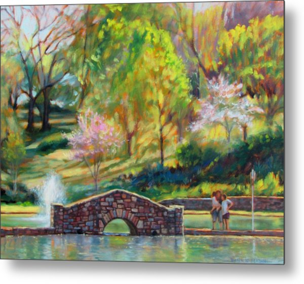 Spring Morning Metal Print