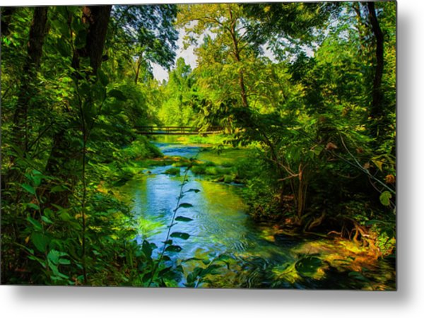 Spring Of Wonderment Metal Print