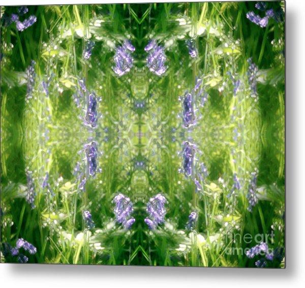 Spring Symmetry Metal Print